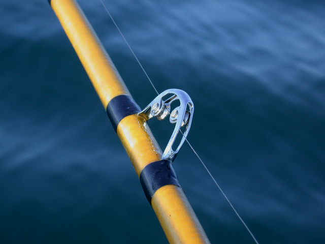 Wire divers for Wire fishing rod