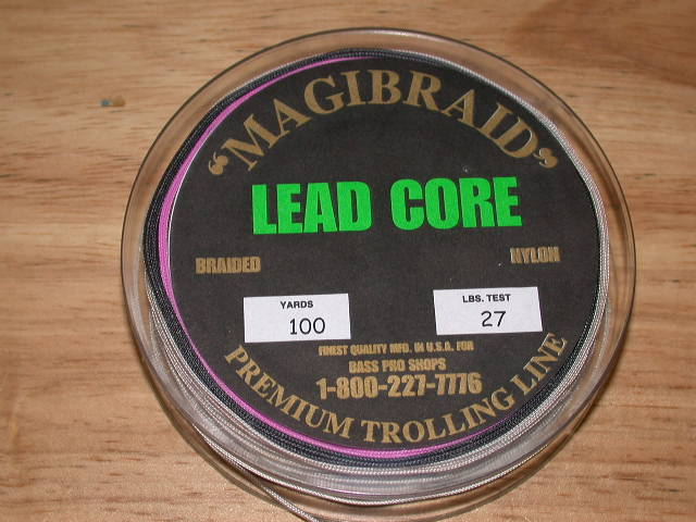 Get the lead out for Lead core fishing line