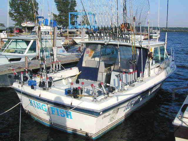 Why fish manistee for Charter fishing manistee mi